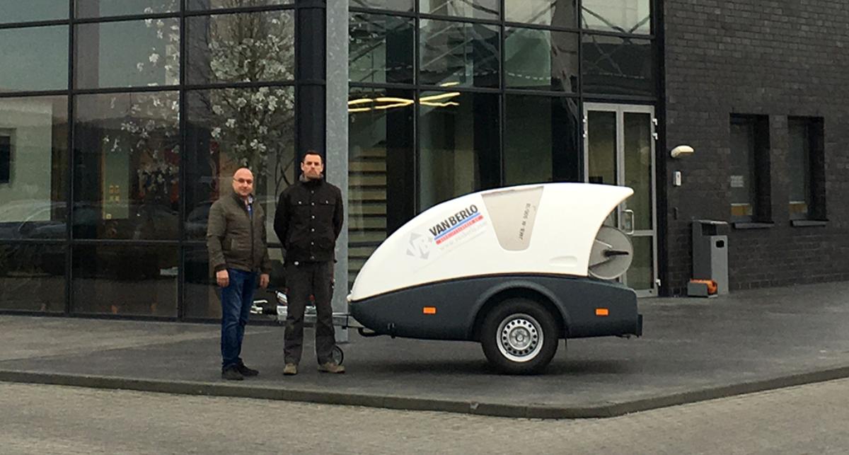 Van Berlo Vloeren : Van berlo bedrijfsvloeren trotse eigenaar van nieuwe dibou dibo