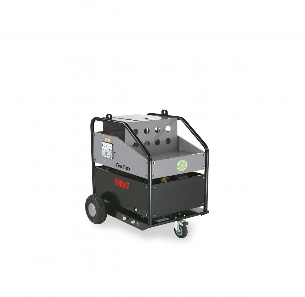 hotbox fahrbare brennermodule heißwasser-hochdruckreiniger   dibo
